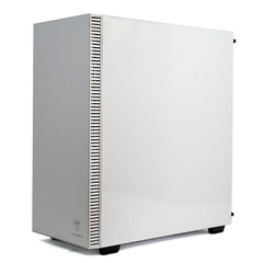 Gabinete Gamer T-Dagger Cube Branco + Fan 120mm Vidro Temperado Mid Tower C/ Janela - TGC305-WH na internet