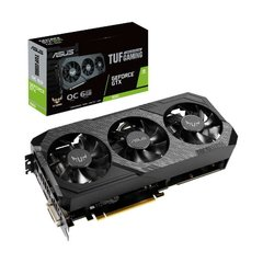 Placa De Vídeo Asus Nvidia Geforce TUF Gaming OC Edition GTX 1660 6GB GDDR5 192 Bits - TUF3-GTX1660-O6G-Gaming