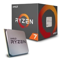 Processador Amd Ryzen R7 2700x, Pinnacle Ridge, 2ª Geração, 8 Core 16 Threads, Cache 20mb, 3.7ghz (4.35ghz Max. Turbo) Am4 - YD270XBGAFBOX
