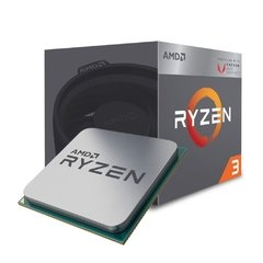 Processador Amd Ryzen 3 3200g, 3ª Geração, 4 Core 4 Threads, Cache 6mb, 3.6ghz (4.0ghz Max. Turbo) Am4, Radeon Vega 8 Graphics - YD3200C5FHBOX