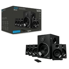Caixa De Som Gamer Logitech Gaming Z607 Bluetooth 160w Surround 5.1 80rms - Z607