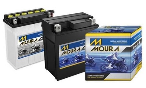 Bateria Moura 12v 5ah Iros Moving 125