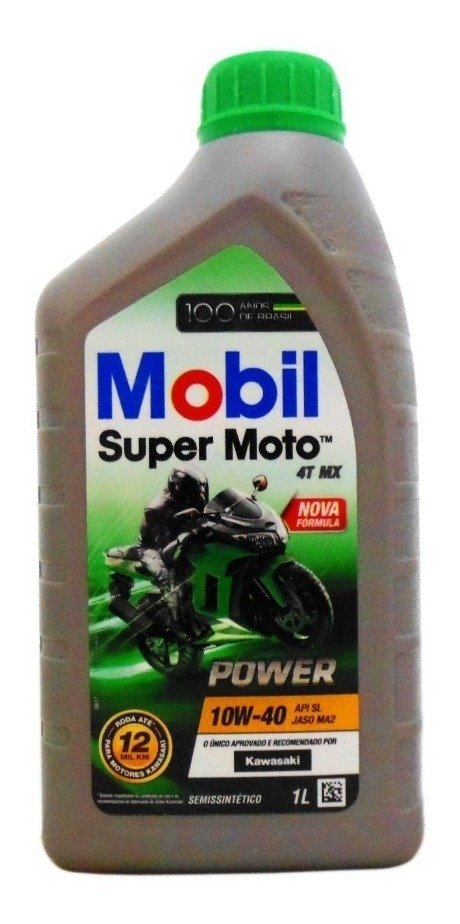Óleo Mobil Super Moto 4t Mx 10w40 Power  - 1 Litro
