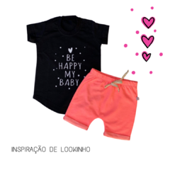 T-Shirt Be Happy My Baby na internet