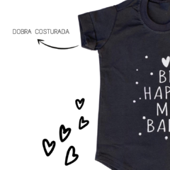 T-Shirt Be Happy My Baby - comprar online