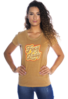 T-shirt Babylook Foxy Lady - comprar online