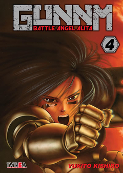 GUNNM (BATTLE ANGEL ALITA) - 04 - comprar online