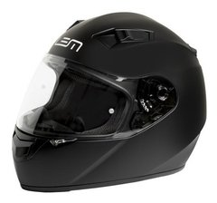 Casco Integral Lem Shadow Italia Moto Negro Mate Cycles