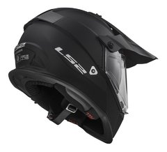 Casco Ls2 Cross Mx 436 Pioneer Negro Mate Doble Visor Cycles - Cycles Motoshop