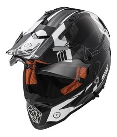 Casco Touring Cross Ls2 Mx436 Trigger Pioneer Doble Visor