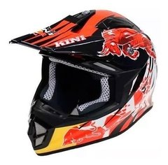 Casco Cross Shiro Thunder Mx 912 Kini Enduro Oferta Cycles