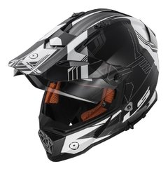 Casco Touring Cross Ls2 Mx436 Trigger Pioneer Doble Visor - tienda online