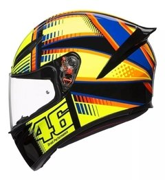 Casco Agv K1 Soleluna New Line Visor Simple En Cycles en internet