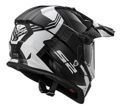 Casco Touring Cross Ls2 Mx436 Trigger Pioneer Doble Visor - Cycles Motoshop