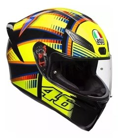 Casco Agv K1 Soleluna New Line Visor Simple En Cycles
