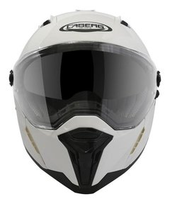 Casco Integral Caberg Stunt Doble Visor Blanco Cycles - Cycles Motoshop