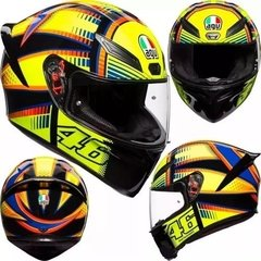 Casco Agv K1 Soleluna New Line Visor Simple En Cycles - comprar online