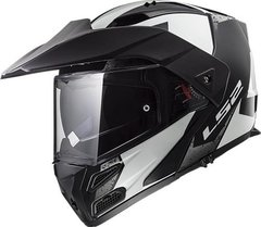 Casco Ls2 324 Rebatible Metro Evo Sub Brilla Oscuridad Cycle