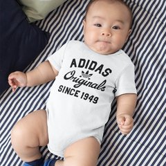 Body Bebê Adidas Originals modelo