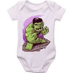 Body bebê Hulk - Marvel Comics