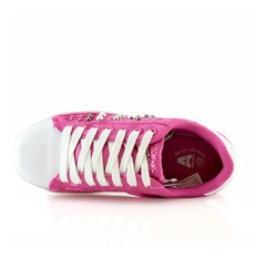 Zapatillas Addnice Velvet Luces Led Fucsia 1102-94 Luminares en internet
