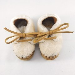 First Steps Nube Lace-up Slippers - buy online