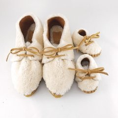 Image of Baby Nube Lace-up Slippers