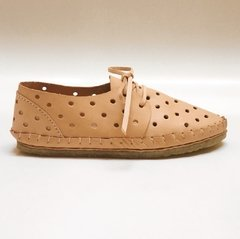Woman Pelota Lace-up Sleepers Natural - buy online
