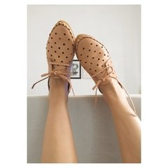Woman Pelota Lace-up Sleepers Natural - online store