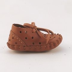 Baby Pelota Lace-up Slippers Caramel on internet