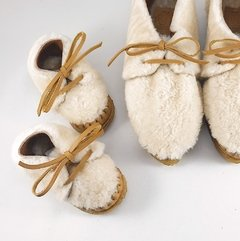 First Steps Nube Lace-up Slippers - online store