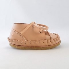Firts Steps Bear Lace-up Sleepers Natural on internet