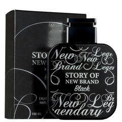 Story of New Brand Black - New Brand - DECANT - EDT - comprar online