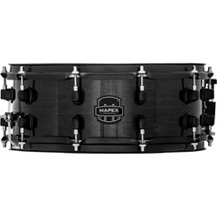 Caixa de Bateria Mapex Mpx Maple Transparent Midnight Black 14x6,5