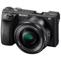 Câmera Sony Mirrorless Alpha A6500, 4K, Wi-Fi, 24.2MP