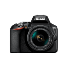 Câmera Nikon Dslr D3500 Af-p Dx De 18-55mm Vr, 24.2mp, Full Hd