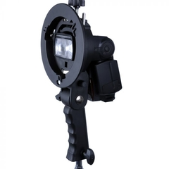 Suporte Flash Dedicado Speedlite Softbox Bowens Godox S-type YA5010 - comprar online