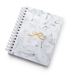 Planner A5 de Wire-o Pink Stone Mármore