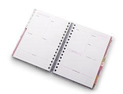 Planner A5 de Wire-o Pink Stone Mármore - loja online