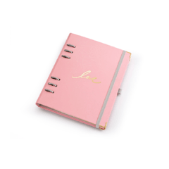 Planner A5 Pink Stone Geométrico