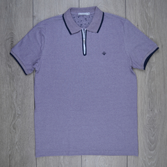 Polo Piquet roxo