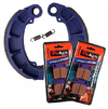 Kit Pastilha Alta Performance + Lona Freio Quadriciclo Honda Fourtrax 420