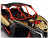 Barra Intrusão Dianteira Vermelha Utv Can Am Maverick X3