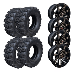 Jogo Asfalto E Off Road 25x8-12 E 25x10-12 Honda Fourtrax
