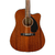 Guitarrra Electro Acustica Fender Cd-60sce All-mahogany (CUOTAS) en internet