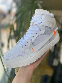 Tênis Nike Air Jordan X OFF White Branco