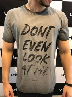 Camiseta Voghan Don't Even Look - Dupla Face