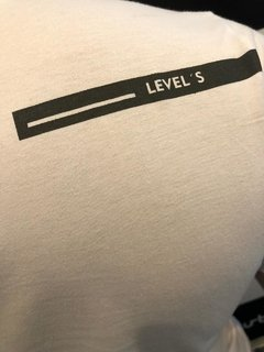Camiseta Level's Jeans Happy Seller Branca - loja online