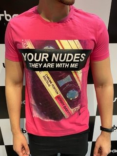 Camiseta Level's Jeans Your Nudes - Pink