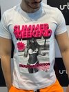 Camiseta Level's Jeans Summer Wekeend - Branca